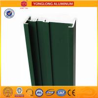 Buy cheap Square Green Powder Coated Aluminum Alloy Extrusion With Strong Stability product