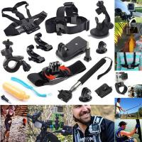 Buy cheap 12 In 1 Chest Belt Head Mount Strap Extendable Handle Monopod Set For GoPro Hero 4 3+ 3 2 from wholesalers