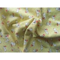 Buy cheap Single Side Printed Flannel Fabric 60% Cotton 40% Polyester Antibacterial from wholesalers