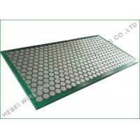 Buy cheap Carbon Metal Frame Shale Shaker Screen , Extra Fine Wire Mesh Cloth 1250 X 635mm from wholesalers
