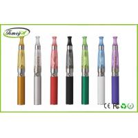 Buy cheap Purple Red Ego E Cigs Ce4 ce5 Atomizer 1.8ohm , Flat / Round Drip Tip from wholesalers