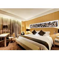 Buy cheap Luxury Optional New Hotel Bedroom Furniture Sets Highly Endurable Solid Surface from wholesalers