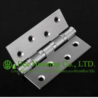Buy cheap Brushed Finished 304 stainless steel Hinges for timber doors,ball bearing hinges, no noise from wholesalers