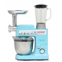 Electric Stand Mixer With Removable Head ~ All in one electric cake stand mixer qt w blue