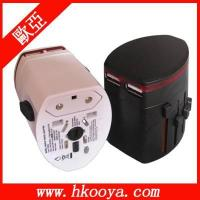 Buy cheap New World Travel Adapter 2 & Global USB charger (TA-108) from wholesalers