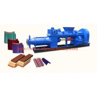 Buy cheap clay roofing tile making machine from wholesalers