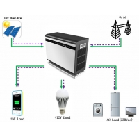 Buy cheap 5KVA Off Grid home use Solar Energy Storage System With 5KWh lithium Ion Batteries from wholesalers