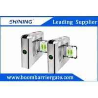 30 Persons / Min Steel Swing Barrier Gate , Smart Subway TurnstileGate