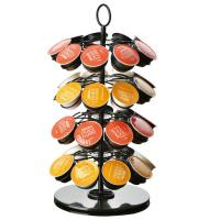 Buy cheap Rotatable K-cup Carousel Coffee Display Rack Coffee Machine Accessory from wholesalers