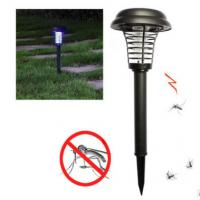 Buy cheap 4500K - 5500K Outdoor Lawn Solar Lights , Bug Zapper Mosquito Solar Insect Killer Light from wholesalers