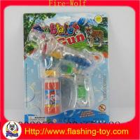 Buy cheap China Bubble Gun Factory,Kids Plastic Bubble Water Toy from wholesalers