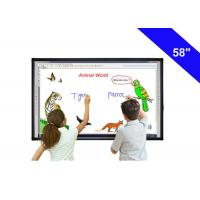 Buy cheap 58 Digital Touch Screen Interactive Whiteboard In The Classroom USB Cable Power Supply from wholesalers