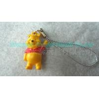 Buy cheap Winnie The Pooh Figure Plastic Key Chain from wholesalers