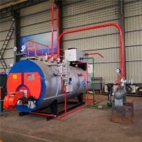 Buy cheap 3T/H Industrial Natural Gas Oil Fired skid-mounted Steam Boiler for mushroom sterilizer from wholesalers