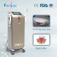 Buy cheap Cosmetic laser treatments with shr hair removal laser salon beauty equipment from wholesalers