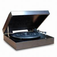 Buy cheap Nostalgic Wooden Music Center with Auto-stop Phonograph and 5W Power Consumption from wholesalers