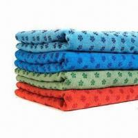 Buy cheap Microfiber Yoga Towel, Allows You to Relax and Focus on Your Practice from wholesalers