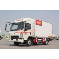 Buy cheap Euro 2 5 Ton Refrigerated Truck For Frozen Foods Transporting XL-300 -18 Degree from wholesalers