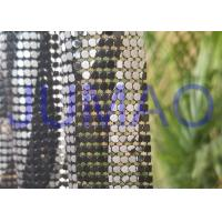 Buy cheap Various Color Metal Mesh Cloth Aluminum Alloy4 Sequins With Images On Surface product