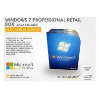 China DirectX 9 Windows 7 Professional Retail Box 64 Bit COA License Key DVD Genuine on sale