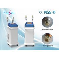 Buy cheap advanced auto delivery tech 5MHz rf fractional micro needle and superfacial thermage machine from wholesalers