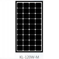 Buy cheap Roof 120 Watt Mono Crystal Solar Panel , Monocrystalline PV Panels Solar Power product