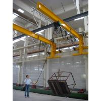 Buy cheap High Efficiency Wall Traveling 1ton 2tons 3tons 5tons Electrical  Jib Crane from wholesalers