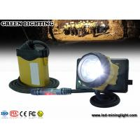 Buy cheap OEM/ODM LED Mining Cap Lights With SAMSUNG Lithium Battery , 3W 800Ah Light Power from wholesalers