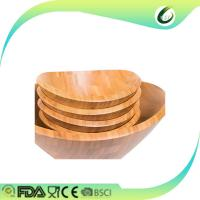 Buy cheap OEM high quality bamboo fiber salad serving bowl from wholesalers