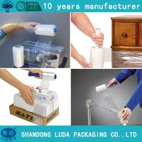 Buy cheap Wood Pallet Wrap Film Pallet Wrapper Plastic Film from wholesalers