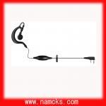 Buy cheap Wired ear hook earphone for walkie talkie from wholesalers