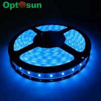 Buy cheap Eco-friendly 5050SMD 60pcs Blue Led Strip Light , High Brightness from wholesalers