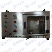 Buy cheap ASTM D 1230 Textiles 45 ° Flammability Tester from wholesalers