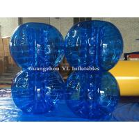 Buy cheap Amusement Body Bubble Ball Air Bubble Human Sized Hamster Ball Football Soccer Full Blue from wholesalers