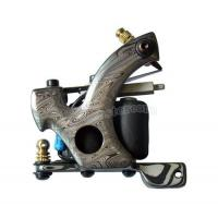 Buy cheap custom handmade damascus steel tattoo machine for shader or liner from wholesalers