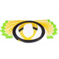 Buy cheap SC/FC/ST/LC 72 Pre Terminated Multi Fiber Cables OS2 Single Mode Assembly from wholesalers