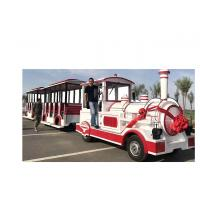 Buy cheap 72 Seat Trackless Kiddie Train Mini Electric Train Shopping Mall 1 Year Warranty from wholesalers