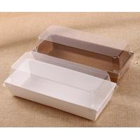 Buy cheap Custom design corrugated cardboard paper cake box with pvc window,cardboard clear pvc rose box, square rose cake box, ro from wholesalers