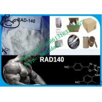 Buy cheap 99% purity SARMs Steroids white Raw Steroid Powder Rad140 CAS 1182367-47-0 from wholesalers