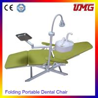 Buy cheap Dentist chair price mobile dental chair with halogen tungsten lamps from wholesalers