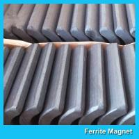 Buy cheap Industrial Ferrite Arc Magnet For Treadmill Motor / Water Pumps / Dc Motor from wholesalers