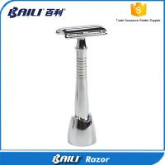 Buy cheap Silver Long Handle Men Best Shaving Razor Barber Straight Razor from wholesalers