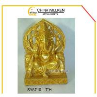 Buy cheap Polyresin Ganesh Statue For Home Decoration from wholesalers