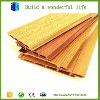 Buy cheap HEYA wood plastic composite wpc cladding fence panels board manufacturers from wholesalers