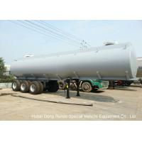 Buy cheap Steel Lined PE Road Chemical Tank Trailers For Transport Bleach , Hydrochloric Acid from wholesalers