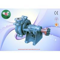 High Pressure AH Slurry Pump , Industrial Sludge Pump For Mining Industry 6/4 Ahr