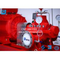 Buy cheap Ductile Cast Iron Electric Motor Driven Fire Pump For Highway Tunnels / Subway Stations from wholesalers