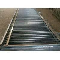 Buy cheap Living Area Spear Top Automatic Driveway Gates Powder Coated Sliver Color from wholesalers