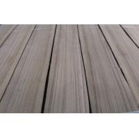 Buy cheap Burma Teak Quarter Cut Veneer Yellow With Black Line from wholesalers