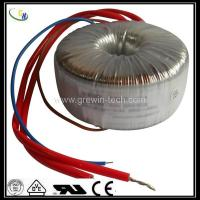 Buy cheap 12v DC toroidal transformer for electrical control & 50hz power transformer with CE UL from wholesalers